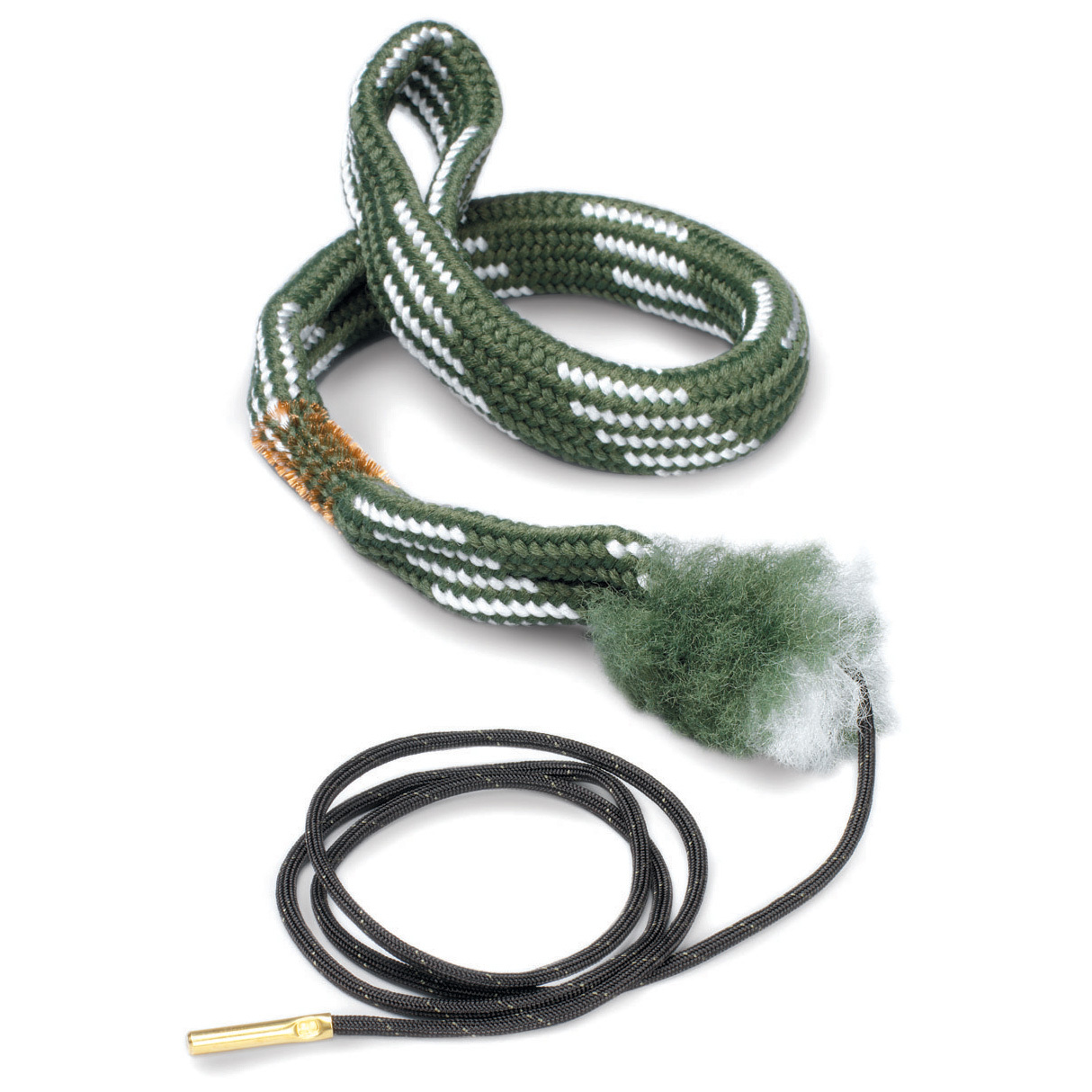 Hoppe's Pistol BoreSnake cleans your handgun FAST in one swift pass. Introducing the fastest bore cleaner on the planet. One pass loosens large particles, scrubs out the remaining residue with a bronze brush, then swabs it all spotless with a cleaning area 160 times larger than a standard patch. Add a few drops of gun lubricating oil and your gun's ready for storage.More goodness:The world's quickest, 3-step bore shine Extremely packable Brass weight on the pull cord is stamped with the size Machine washable Patented one-piece design. State Caliber, as available in the Shopping Cart. Clean up on this deal by going ONLINE today! - $17.99