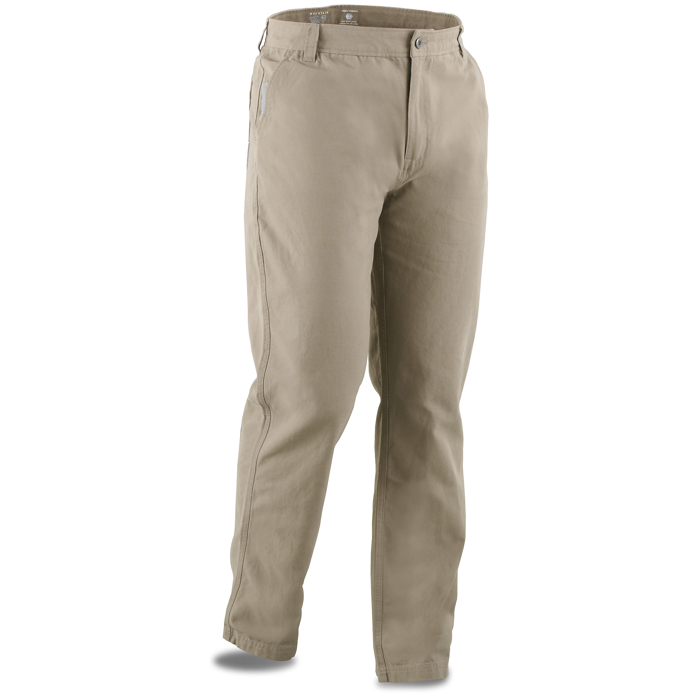 Mountain Hardwear Cordoba Causal Pants offer a stylish look with rugged durability. A classic look with manly man toughness. Slip into these Mountain Hardwear Cordoba Casual pants for work, play, or just relaxing. Durable, cotton-canvas fabric stands up to the rough and rugged lifestyle of a true outdoorsmen, yet looks stylish enough for the office or a night on the town. Plus, the UPF 50 rating helps protect your skin against the sun's harmful rays. Features: 100% cotton outer shell 65/35 polyester / cotton lining for cool comfort UPF 50 rating protects you against the sun's harmful rays 2 front hand pockets (1 with small coin pocket) 2 back pockets Machine wash / dry Imported. State Color and Size, as available in the Shopping Cart. - $49.99
