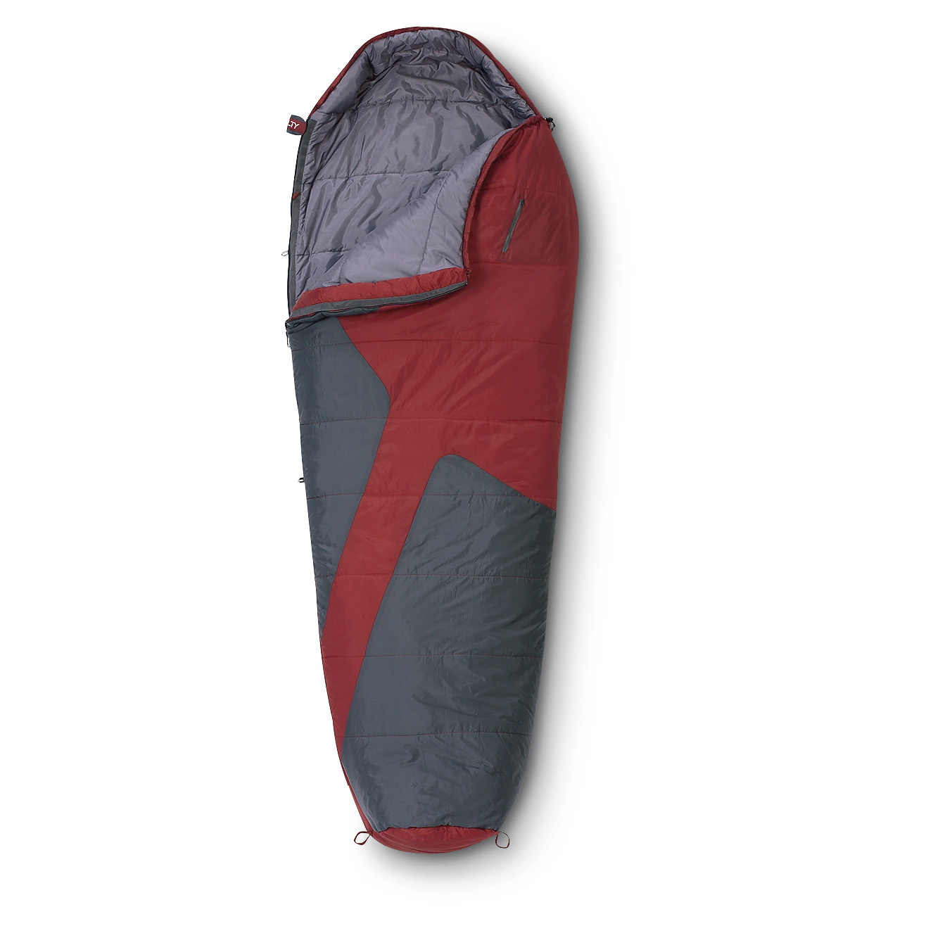 "Kelty Mistral 20 degreesF Sleeping Bag, reliable warmth at a great price! PRICED LESS! This mummy-style Sleeping Bag is loaded with features to make your next night under the stars a more comfortable one. The built-in pillow pocket keeps your pillow in place all night.The zip chest pocket keeps all your small necessities like your phone and eyeglasses close by. It's rated to 20 degreesF for warmth on those chilly fall nights. Measures 64 x 80""l., 3 lbs. 11 ozs.Good night:2-layer offset quilt construction for warmth without cold spots 2-way, locking blanket zipper Zipper draft tube with anti-snag design Internal liner loops, and sleeping pad security loops Ground level side seams for maximum warmth FatMan and Ribbon & #153 drawcords 33-oz. fill weight. Sleep well in your new Mistral Sleeping Bag! Act ONLINE Now! - $79.99"