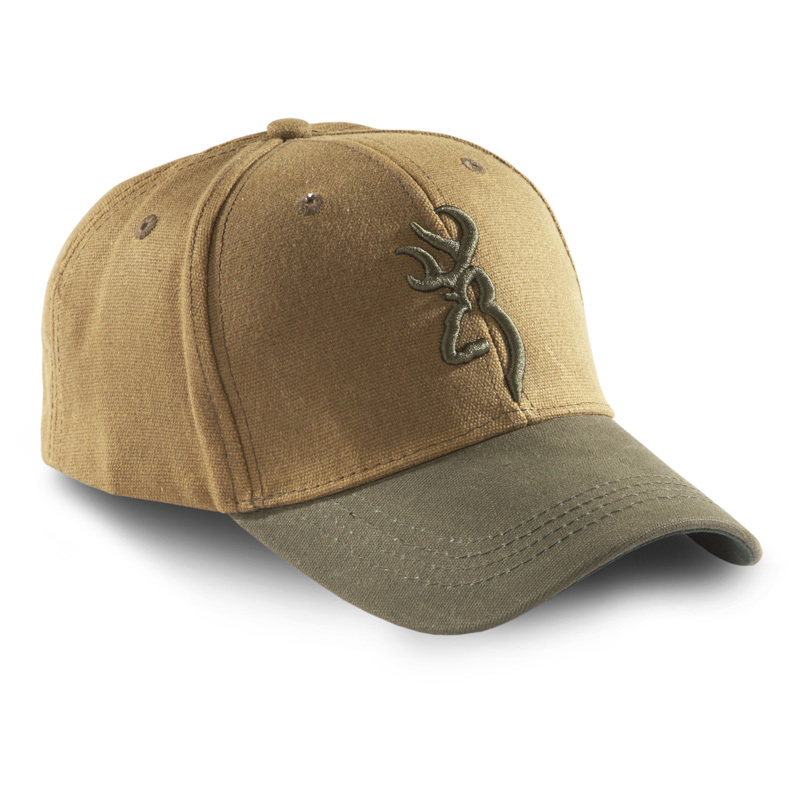 Browning Repel-texTM 2-tone Cap. Cool, comfortable, and water resistant! Nothing but the best from Browning! When the sun is blazing, you'll be thankful you have on this Browning Repel-texTM 2-tone Cap. The lightweight style is incredibly cool, comfortable, and helps shade you from the sun's burning rays. Plus, it boasts a Repel-tex brim that is water resistant and helps keep sweat out of your eyes.Features:100% cotton construction Repel-tex brim is water resistant 3D embroidered Buckmark logo on front Hook-and-loop adjustment on back for a custom fit - $19.99