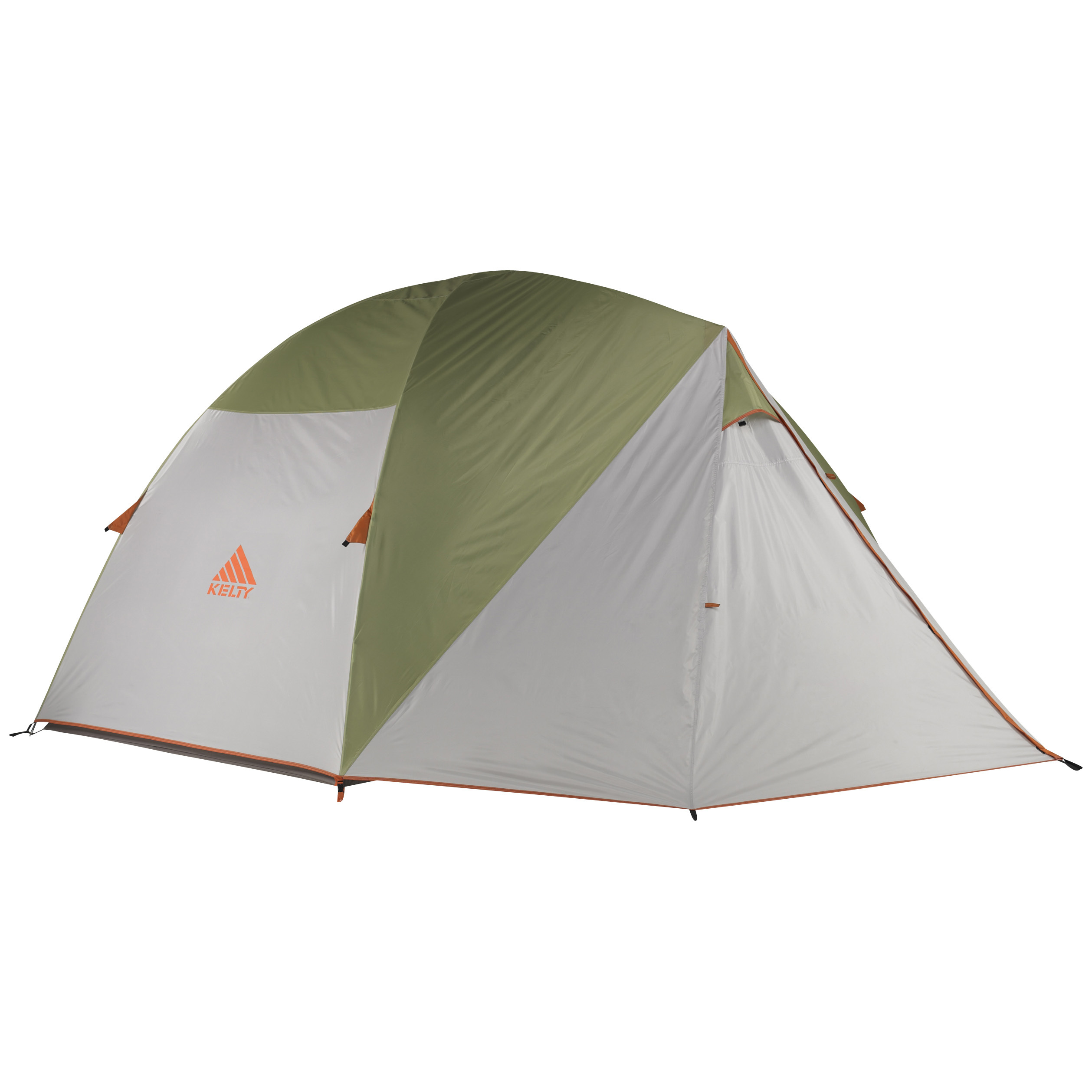 "Kelty Acadia 6 Tent. Incredibly durable, easy to set up and large enough to sleep the whole crew! Camp comfortably! Constructed of a lightweight, 68-denier polyester, this Kelty Acadia 6 Tent is WATERPROOF and can stand up to harsh weather. Its large 120 x 96 x 74""h. size sleeps up to 6 people and the 2 attached vestibules are great for storing extra gear or hanging up wet and muddy clothes. And it's incredibly easy to set up with the clip and pole sleeve design. Plus, the no-see-um mesh wall panels and fly vents allow air to circulate, so it never gets too warm or stuffy inside. The 3-pole, double-door design is great for everything from back country camping to staying at your local campground.Features:1800mm 67-denier polyester construction for lightweight durability 3-season freestanding design 6 person capacity 2 wrapped fiberglass poles and 1 DAC hybrid ridge pole Clip and pole sleeve construction 1800mm 75-denier polyester floor and taped floor seams lock out water No-see-um mesh wall panels help circulate air Internal side pockets for easy organization 2 doors for easy in / out Measures 120 x 96 x 74""h., weighs 14 lbs, 3 ozs. Fly features: 1800mm 75-denier polyester construction Taped seams keep water out Side-release tent / fly connection Fly vents for breathability Noiseless zipper pulls Guyout points for easy set up 2 vestibules for dirty shoes or other gear. - $279.99"