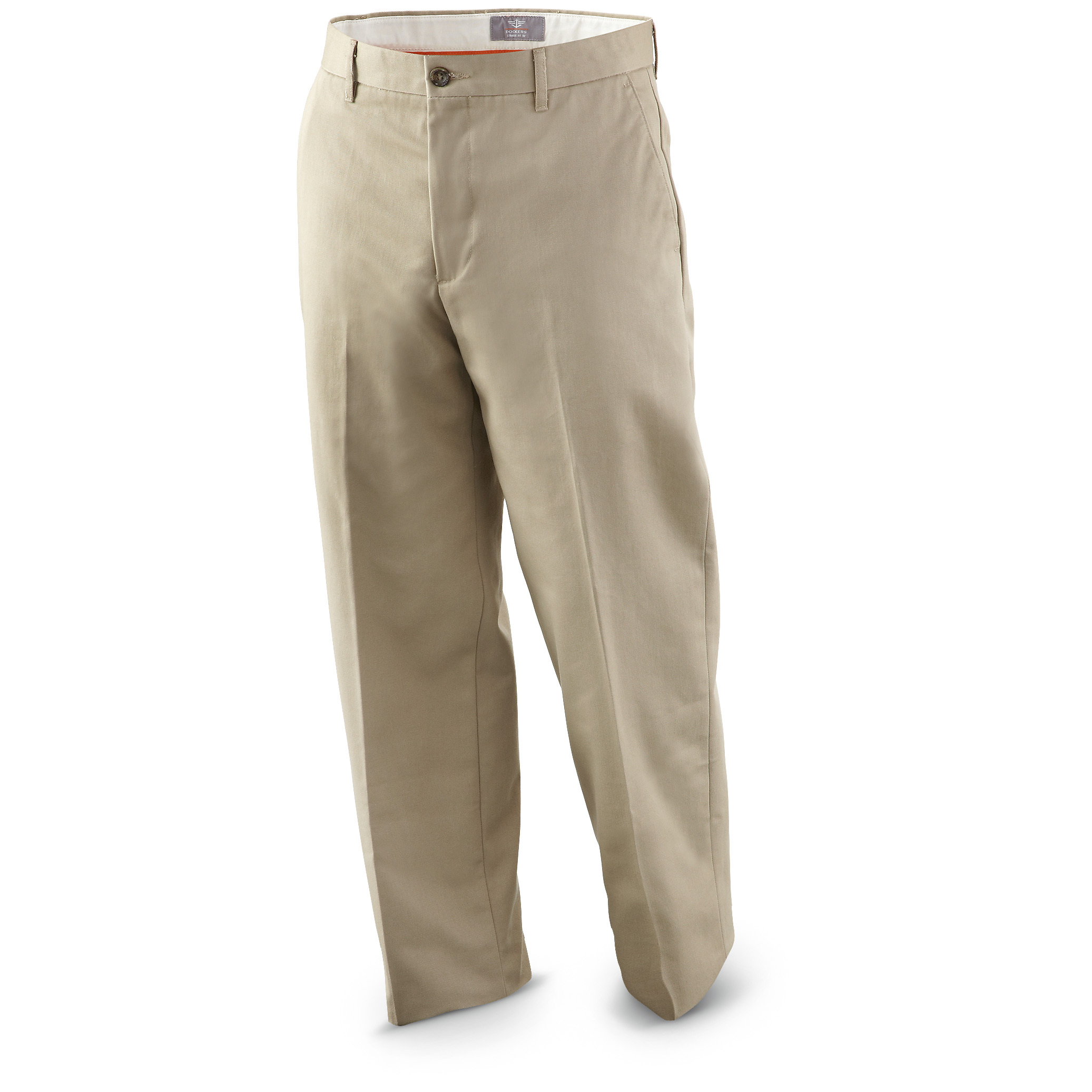 "Dockers Classic Easy-fit Pants... comfortable with a modern look, with big savings! BIG BUCKS OFF! Look-good, feel-good Khakis. These comfortable 100% cotton Pants have an easy-fit style, giving you just enough room without looking baggy. With a straight-leg cut and flat front, you get a modern look perfect for the office or church Sundays. And though some scrupulous quality-control person labeled these Pants as ""irregular"", they look fine to us, so we pass the savings on to you, satisfaction guaranteed! Double button / zip front. 4 pockets plus coin pocket. Machine wash / dry.State Inseam and Waist Size, as available in the Shopping Cart. - $9.99"