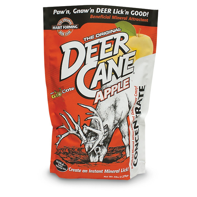 Evolved Habitats Deer Attractant.Drive them right where you want them! This powerful, proven Attractant is guaranteed to bring in the bucks. Made with apple flavoring and UV enhancement.Deer won't be able to stay away! - $9.99