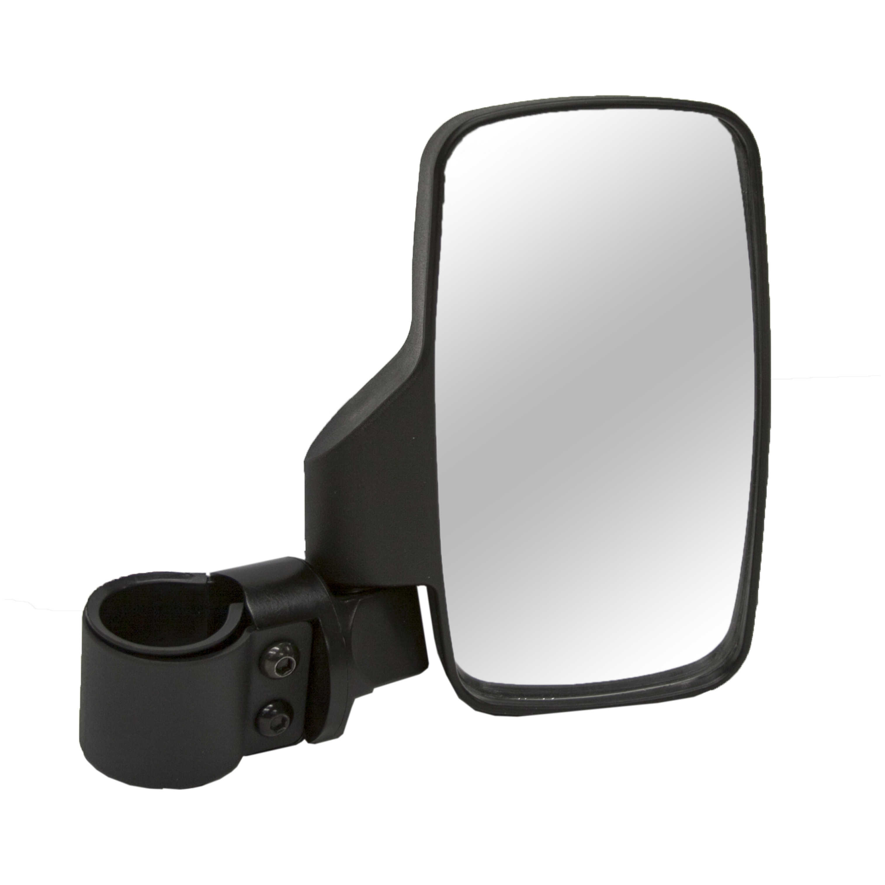 "2-Pk. of Kolpin UTV Side Mirrors make looking back safe and easy. Put eyes in the back of your helmet! With this 2-Pk. of Kolpin Side Mirrors you can look back at your trail buddies without losing control or running off the road. Plus, you'll meet the road travel requirements of many states. The convex mirrors provide high visibility, while the ball socket joints give you unlimited viewing angles. And they're incredibly easy to install with the included 1 3/4"" OD clamps that fits most major brand UTVs. Features:2 Convex mirrors provide wide viewing range and image stabilization Constructed of shatterproof tempered glass High-impact ABS housing for durability Ball socket joints for unlimited viewing angle Mirror dimensions: 4 1/8"" x 7 3/4""h. Side mirrors will fit:Polaris Ranger (Not 900XP) Polaris RZR Yamaha Rhino Kawasaki Mule 600's Arctic Cat Prowler (round tube) All John Deere Gators Most other major brand UTVs - $44.99"