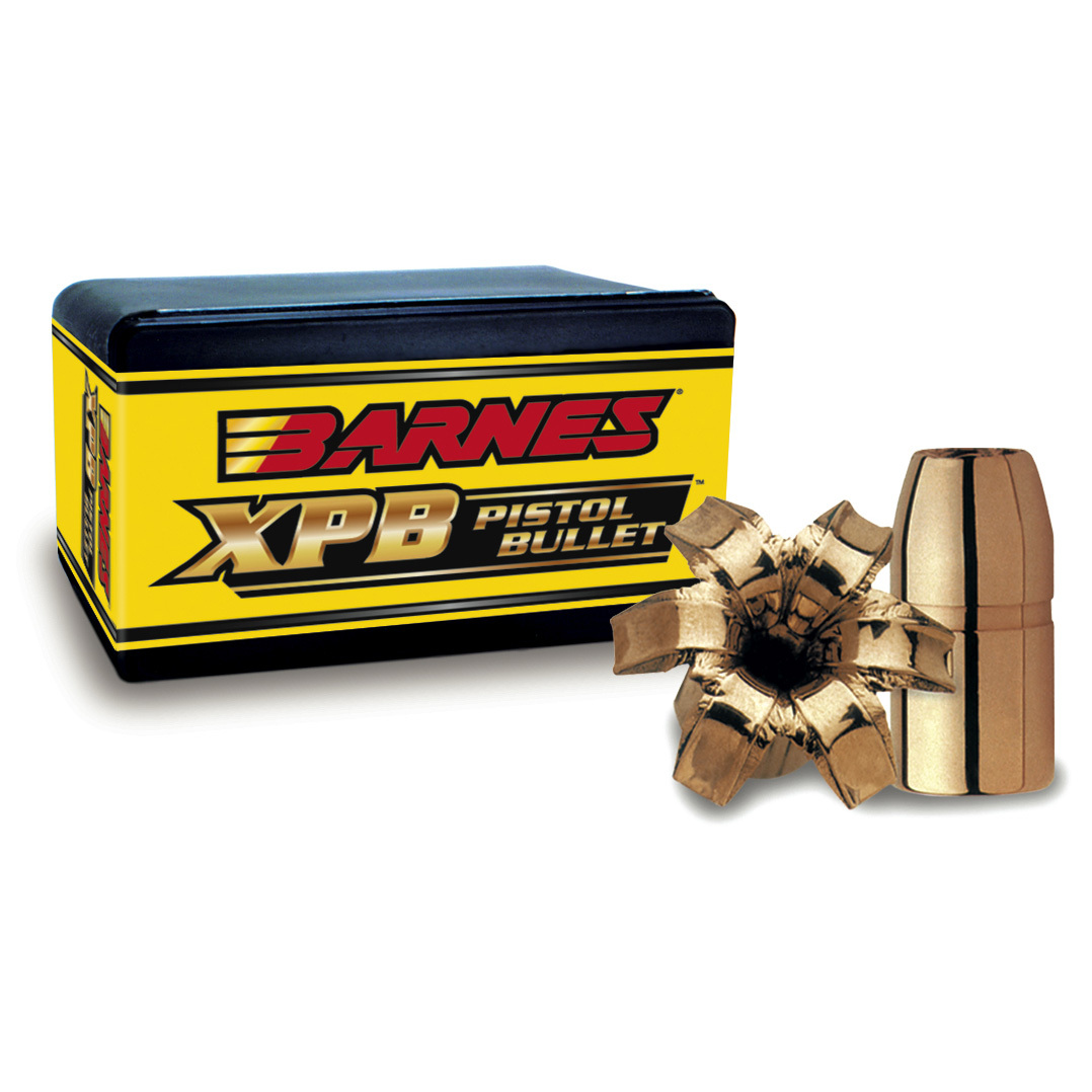 "20-Pk. Barnes .357 Mag. 125-grain TAC-XPTM Pistol Reloading Bullets. The ultimate training and personal defense load. Designed for law enforcement and personal defense, 100% copper TAC-XPTM Pistol Bullets meet the requirements of lead-free practice environments. They maintain their original weight and track straight after being fired through intermediate barriers like car doors, plywood and automobile windshield glass.Specs:Caliber: .357 Mag. Bullet diameter: .355"" Bullet weight: 125 grains Bullet length: .724"" Bullet style: TAC-XPSectional density: .140 Ballistic coefficient: .160. - $29.99"