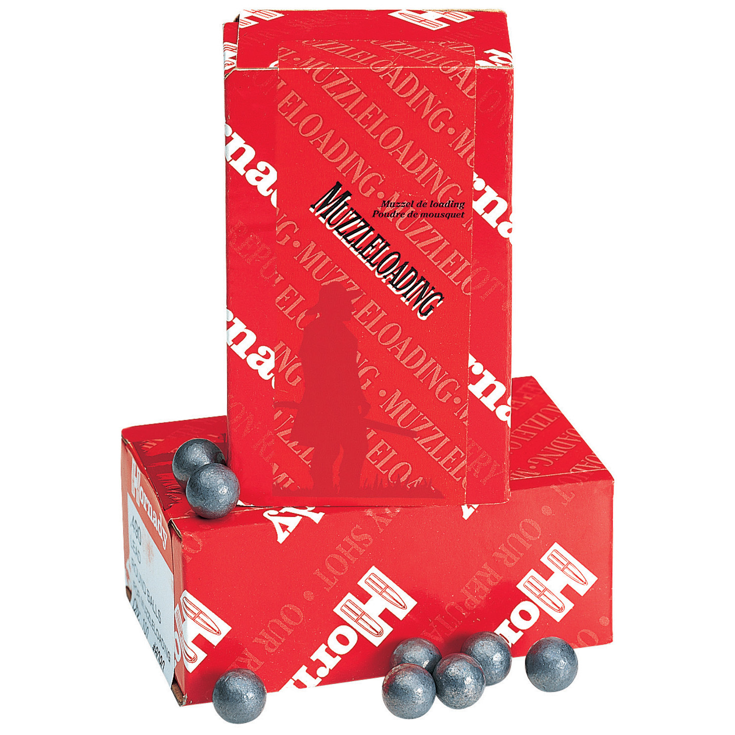 "100-Pk. of Hornady .45 Caliber .457"" Lead Balls offer incredible accuracy and consistency. Near perfect consistency and concentricity! Cold swagged from pure lead, these Hornady Lead Balls are uniform in size, weight and roundness. Their smooth, round surface assures better rotation, consistency and accuracy in the field. Features:.45 caliber .457"" diameter 100 lead balls per box. - $14.99"