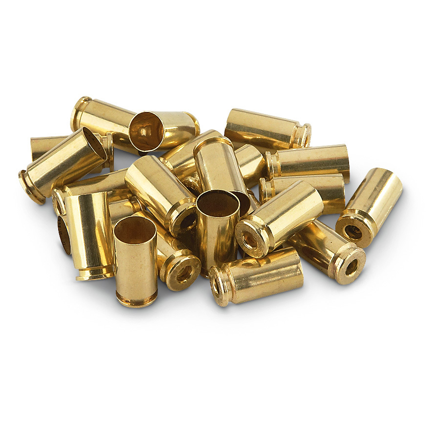 100 Winchester .45 ACP Unprimed Brass Handgun Cases. Unprimed Brass Handgun Cases by the bulk! Brand-new, smooth-loading, American-made Brass-yours in 100-count bags, from legendary Winchester. Guaranteed reliable for repeat reloading. - $35.99