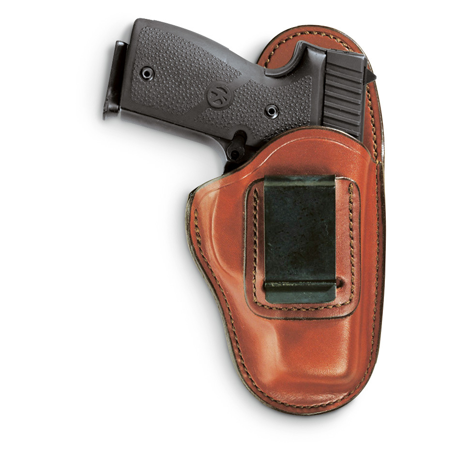 Bianchi Professional Series Holsters. For smaller handguns! Vegetable-tanned cowhide Non-slip suede-lined exterior Cut high to ride comfortably against the torso Wraps around the belt for minimal visibility. Tan finish. Order Now! - $44.99