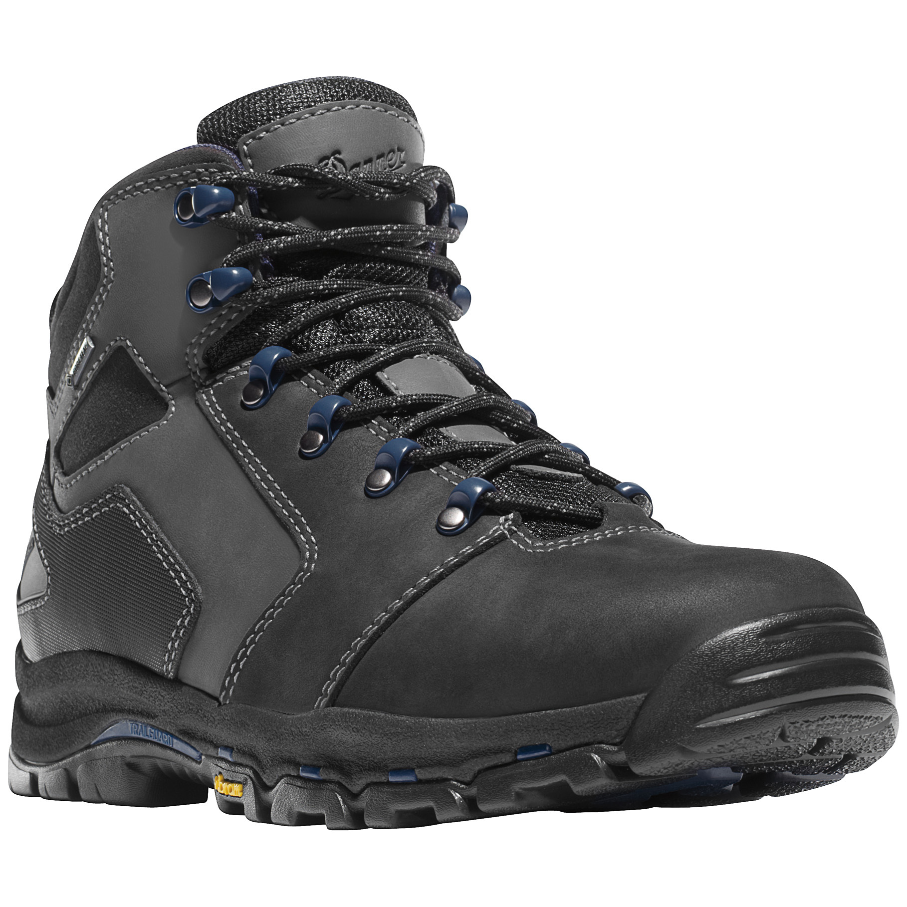 "Danner 4.5"" Vicious GTX WATERPROOF Work Boots deliver comfort that doesn't stop when you punch out! By using top-of-the-line materials like GORE-TEX, Vibram, and an all-leather upper atop a lightweight platform, Danner made these tough, versatile Workers feel like the kind of boot you want to put on at the end of a long day. But they're made for work, all the way.More:Durable waterproof leather uppers 100% waterproof / breathable GORE-TEX lining Vibram Vicious outsole delivers superior indoor / outdoor traction with oil and slip resistance Designed with a little more room in the toe box to accommodate feet that are carrying heavy loads or changing directions quickly Built with the Danner Trailguard platform for lightweight support that feels a hiking boot EVA midsole for shock-absorbing cushioning Electrical hazard protection. Each approx. 23 ozs. State Size and Width, as available in the Shopping Cart. - $169.99"