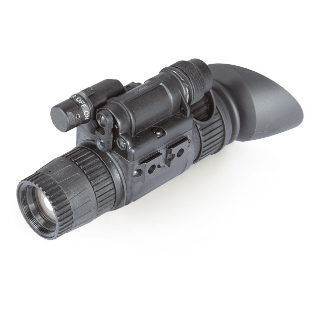 "Armasight NYX-14 Pro Gen 3 Alpha Night Vision Monocular. High-resolution 3rd-Generation imaging, MIL-SPEC durability, and a built-in IR laser designator make this the ultimate covert-ops optic. The NYX-14 Pro Gen 3 delivers the same exceptional image quality and military-grade durability as the standard NYX-14... but with the addition of an integrated infrared laser pointer. The built-in IR laser pointer allows the operator to communicate targets to other team members easily and silently. Super-tough. Armasight built it to surpass MIL-SPEC-810 specifications, so it can withstand salt water, rain, high humidity, extremes of temperature and still give unsurpassed levels of performance. Versatile. The NYX-14 PRO can be used as a handheld, head-mounted, helmet-mounted or weapon-mounted device to allow for increased mobility, firing capabilities, short-range surveillance, map reading, vehicle maintenance, and first aid. It's the ultimate in mission-ready night vision for a new generation of warrior.Features:Gen 3 Alpha image intensifier tube Built-in Class 1 infrared laser pointer for designating targets Made to MIL-SPEC-810 standards, 100% waterproof Weapon mountable (mount not included) Adaptable for use with cameras (adapter not included) Head-mountable for hands-free usage (headgear not included) Built-in infrared illuminator Backed by a 2-yr. limited manufacturer's warranty Includes lens cap, lens tissue, lithium battery, and soft carry case. Specifications:IIT generation: Gen 3 Alpha Resolution: 64-72 lp / mm Magnification: 1x standard 3x / 5x / 8x with eyepiece (sold separately) Lens System: 27mm, F/1.2 F.O.V.: 40 degrees Range of focus: 0.25' to infinity Diopter adjustment: -6 to +2 Bright light cut-off: Yes Battery life: Up to 60 hrs. Battery: One CR123A 3V Infrared illuminator: Yes (built-in) Environmental rating: Waterproof Operating temperature: -40 degrees to 122 degreesF (-40 degrees to +50 degreesC) Dimensions: 6.5 x 1.9 x 3.4"" (167 x 49 x 86mm) Weight: 0.8 lb - $3,349.99"