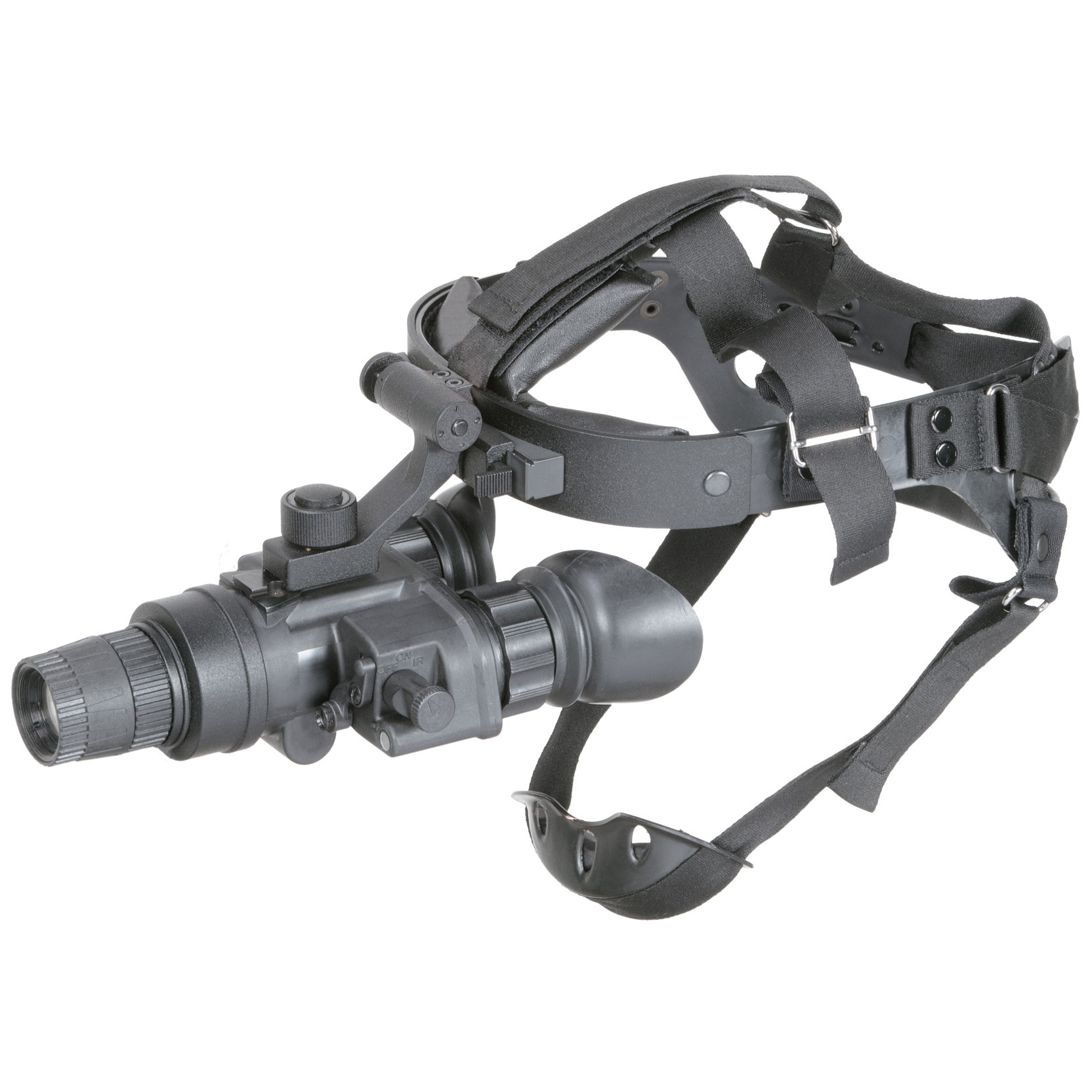 "Armasight Nyx7 Pro Gen 3 Bravo MG Night Vision Goggles pull in the darkest nights with up to 64 lp / mm resolution... adjustable gain built in! Rugged dependable night vision performance that won't weigh you down, and a price that keeps your purchase on budget! The Armasight Nyx7 Gen 3 Bravo MG Night Vision Goggles give you high-quality gen. 3 resolution of 57-64 lp / mm for crisp detail and maximum detection. And resolution isn't the only impressive feature. The Armasight Nyx7 is a night vision work-horse in a compact unit that packs in all the good stuff: Adjustable brightness control to customize your viewing, bright light shut-off circuitry, built-in IR illuminator with flood lens, larger 27mm objective and multi-coated optics... even an adjustable head mount kit with flip-up. Bring these features into focus: Gen. 3 high performance image intensifier tube is rated to an ultra sharp 64-72 lp / mm resolution Manual brightness control lets you fine-tune your image for best viewing... built in bright light cut-off 1X magnification Built-in infrared illuminator with flood lens provides invisible light when natural light is scarce Lens system: F1.2, 27mm... multi-coated glass lenses ensure crystal-clear views Focus: .25m to infinity 15mm eye relief 40 degrees F.O.V. Rugged, lightweight, waterproof and built for a wide range of applications Easy to use with simple control buttons and eyepiece-only focusing Includes adjustable head mount with flip-up for hands-free use Uses one 3V CR123 lithium battery (included) or AA batteries for up to 60 hrs of use Approx. 6 1/2"" x 4 1/2"" x 3"", 1 lbs. Own the night! - $3,714.99"
