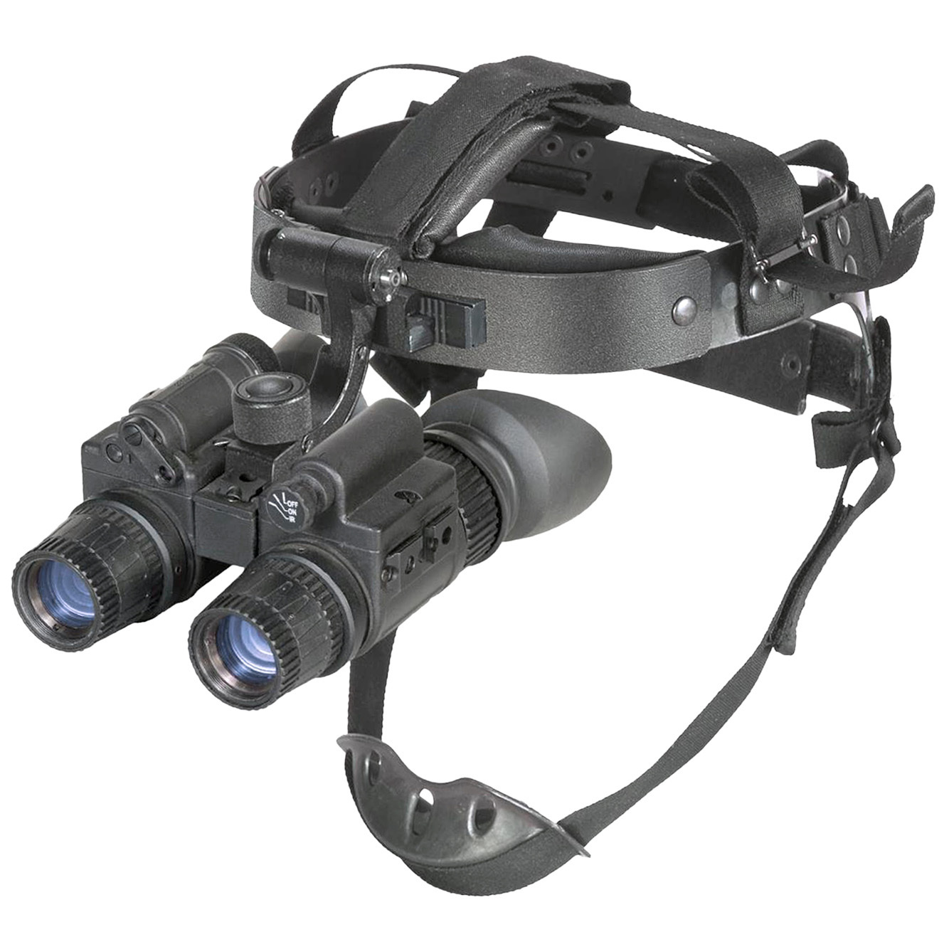 "Armasight N-15 Gen 2+ ID Night Vision Goggles are professional quality night-vision and improved definition in a lightweight package... dual tube redundancy AND depth perception! Rugged, dependable night vision performance that won't weigh you down, AND delivers dual-tube depth perception! The Armasight N-15 Gen 2+ ID Night Vision Goggles feature high-quality gen 2+ performance with an impressive 47-54 lp / mm resolution that rivals many gen. 3 tubes. It's all yours in a rugged, compact package that's packed with mission-ready features and quality specifications that equal or better military spec! All the good stuff: Automatic brightness control, bright light shut-off circuitry, built-in IR illuminator with spot / flood lens, multi-coated optics... even an adjustable head mount kit that automatically shuts the unit off to preserve battery life when you flip your goggles up! Bring these features into focus: Gen 2+ image intensifier tube is rated to a sharp 47-54 lp / mm resolution Dual-tube design gives vastly-improved depth perception plus Murphy's Law-grade redundancy Auto brightness control and bright light cut-off 1X magnification Built-in infrared illuminator with spot / flood lens provides invisible light when natural light is scarce Lens system: F1.2, 27mm... multi-coated glass lenses ensure crystal-clear views Focus: .25m to infinity 15mm eye relief 40 degrees F.O.V. Rugged, lightweight, waterproof and built for a wide range of applications Easy to use with simple control buttons and eyepiece-only focusing Includes adjustable head mount with flip-up for hands-free use... unit automatically shuts off when flipped up Uses one 3V CR123 lithium battery (included) or AA batteries for up to 40 hrs of use Approx. 5 1/2"" x 4 1/2"" x 2 3/4"", 1 1/2 lbs. Own the night! - $3,769.99"