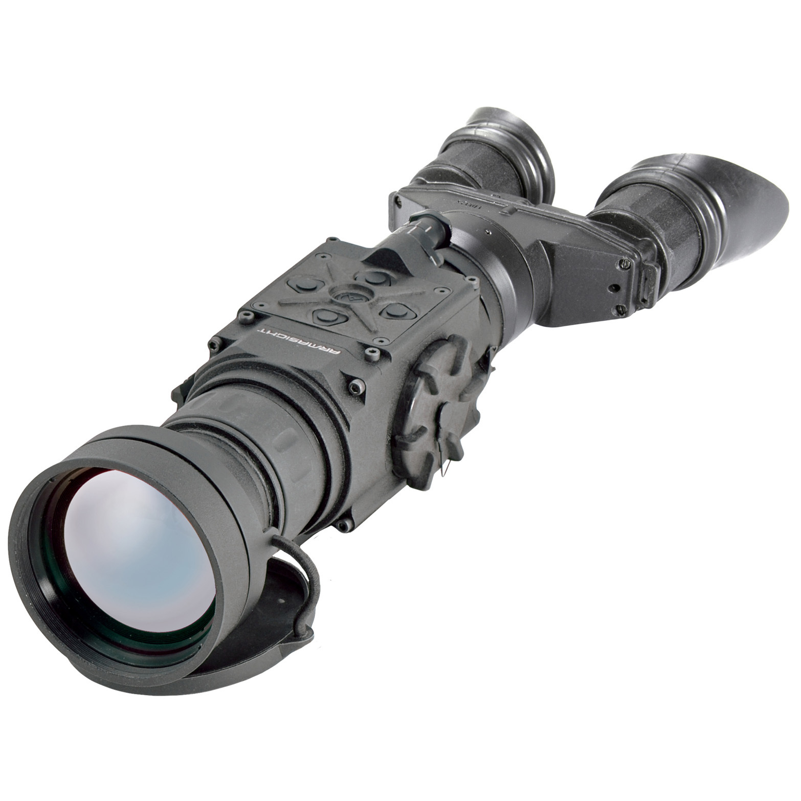 "Armasight Helios 336 5-20x75 (60 Hz) Thermal Bi-Ocular. Best-in-class 60Hz performance means spectacular real-time imaging. Based around the latest FLIR Tau 2 VOx microbolometer core, the Helios 5 an advanced Thermal Imaging Bi-Ocular offering exceptional performance for law enforcement, military and sporting applications. It is a solid-state, uncooled, long-wave infrared handheld Thermal Imager that ""sees"" through the fog of war -- snow, dust, smoke, and haze -- delivering a tactical advantage beyond standard night vision.The Helios 5 boasts superior 60Hz performance, delivering a much higher frame rate than 9Hz or 30Hz. This ensures that what you see is in real-time, guaranteeing that you'll never shoot behind your moving target due to slow-refreshing optics.And, unlike the use of laser targeting or near-infrared illumination to augment night vision optics, the Helios 5 is extremely difficult to detect with other devices, as it emits no visible light or RF energy. Moreover, the bi-ocular design makes for more comfortable long-term viewing sessions.With up to 4X digital zoom -- and all the accessories you need to get started, like advanced wireless remote and video cable -- it's the ultimate mission-ready Imager.Features:Digital E-zoom: 1X, 2X, 4X 60Hz enhanced imaging mean's you'll never worry about hitting behind a moving target because your skill outpaces the technology in your scope Bi-ocular design for comfortable long-term viewing Reads in white hot, black hot, rainbow, or various color mode Video output for easy recording (SD card and recorder sold separately) 100% WATERPROOF Rugged CNC-machined aircraft aluminum alloy construction Rapid start-up Easy and intuitive drop-down user interface Made in the USA Backed by a 3-yr. limited manufacturer's warranty for the system / 10-yr. ltd. for the FLIR core Includes advanced wireless remote with Picatinny adapter mount, video cable, batteries and soft carry case. Specifications:Core: FLIR Tau 2 VOx microbolo - $5,594.99"