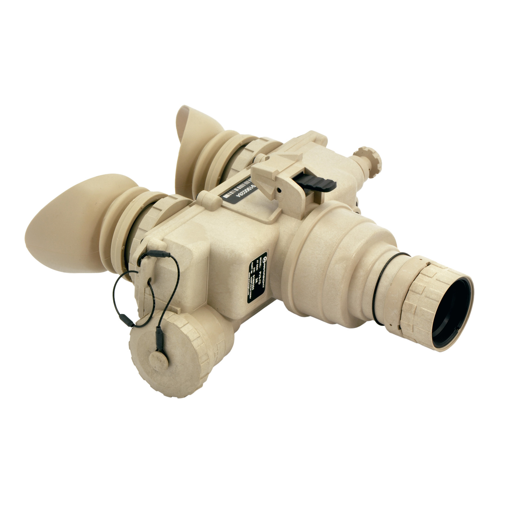 "Armasight PVS-7 Gen 3+ Alpha Tan Night Vision Goggles. Military-grade durability, combat-proven optical quality. Using the same design and chassis proven in battle by U.S. Armed Forces, the PVS-7 delivers military-grade durability and high-quality imaging under the most demanding conditions. The PVS-7 is equipped with a Gen 3+ image intensifer tube that deliver better-than-mil spec. performance.It's 100% water and weather-proof, and features automatic brightness control which automatically adjusts the brightness of the image tube to achieve the highest quality resolution under varying light conditions. A built-in IR illuminator provides ""invisible"" artificial light to illuminate your target when natural light is scarce.With all the accessories you need to get started -- like a head mount assembly for hands-free use, demist shield, sacrificial window and more -- it's the ultimate mission-ready Goggle for the modern professional.Features:Gen 3 Bravo image intensifier tube Manual variable gain control lets you select image brightness level to match light conditions 100% waterproof and weatherproof Head or helmet-mountable for hands-free usage (head mount assembly included) Built-in infrared illuminator and flood lens to provide ""invisible"" light when natural light is scarce Includes head mount assembly, demist shield, brow pads, lens cap, lens tissue, lanyard, sacrificial window, shoulder strap, batteries, and carry case. Specs:IIT: Gen 3 Bravo Resolution: 57-64 lp / mm Magnification: 1X Lens system: F1.2 F.O.V.: 40 degrees Range of focus: 0.2m to infinity Diopter adjustment: -2 to +6 Controls: Direct Automatic brightness control: Yes Bright light cut-off: Yes Automatic shut-off: Yes Battery life: Up to 30 hrs. Battery: 2 x AA 1.5V Operating temperature: -40 degrees to +122 degreesF (-40 degrees to +50 degreesC) Dimensions: 6.4 x 6 x 3""h. (162 x 152 x 76mm) Weight: 24 ozs. - $4,079.99"