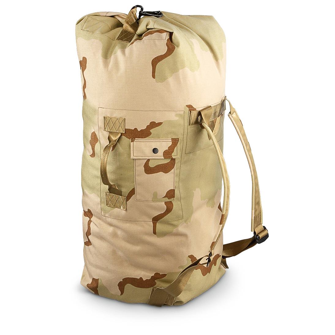 New U.S. Military Surplus Fire-resistant Duffel Bag Deser... - Thrill On cb6e0b62b52bb