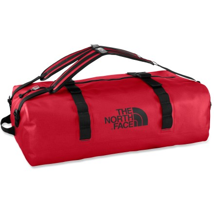 Kayak and Canoe When damp gear just isn't an option, the tough, Waterproof Duffel from The North Face will get your stuff to your destination dry as a bone. - $184.83
