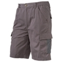 Our Red. Head Trek Series Cargo Shorts are great for hiking, camping, fishing, and all sorts of other warm-weather outdoor activities. Elastic on the sides of the waist makes these shorts easy to move in and comfortable to wear. 2 hand pockets and 2 back pockets are augmented by 4 cargo pockets; there's 1 on the left leg with double hook 'n' loop closures, plus 2 long and thin pockets on the right leg with a hidden zip pocket behind them. 70% cotton/30% polyester. Inseam: 10inch.70% cotton/30% polyester. Side-elastic waist2 hand pockets2 back pockets4 cargo pockets. Inseam: 10inch - $32.99