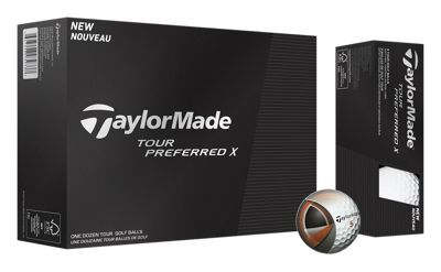 Taylor. Made Tour Preferred X Golf Balls are created with the input of Tour pros for products that strike the ultimate balance of look, feel, sound, and performance. The React? core promotes fast speed off the driver with a soft feel, while the Soft Tech? cover improves greenside spin and control. The Spin Mantle? uses inner layers to promote consistent approach shot spin. The Seemless LDP 322 dimple pattern provides penetrating ball flight for more distance into wind. Add it all up, and you have Taylor. Made's top-of-the-line ball. Wanna play what the pros play? Get a dozen Tour Preferred X Golf Balls today. Manufacturer model #: V9029801.Created with input from Tour professionals. React core delivers fast speed off the driver and soft feel Spin Mantle uses inner layers to promote consistent approach shot spin. Soft Tech cover improves greenside spin and control. Seemless LDP 322 dimple pattern provides penetrating ball flight for more distance into wind - $45.99