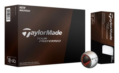 Taylor. Made Tour Preferred Golf Balls are created with the input of Tour pros for balls that strike the ultimate balance of look, feel, sound, and performance. This particular model is ideal for golfers looking for more spin on their iron shots. The React? core promotes fast speed off the driver with a soft feel, while the Soft Tech? cover improves greenside spin and control. The Spin Mantle? uses inner layers to promote consistent approach shot spin. The Seemless LDP 322 dimple pattern provides penetrating ball flight for more distance into wind. Add it all up, and you have Taylor. Made's top-of-the-line ball. Wanna play what the pros play? Get a dozen Tour Preferred Golf Balls today. Manufacturer model #: V9028801.Greater spin on iron shots. Created with input from Tour professionals. React core delivers fast speed off the driver and soft feel Spin Mantle uses inner layers to promote consistent approach shot spin. Soft Tech cover improves greenside spin and control. Seemless LDP 322 dimple pattern provides penetrating ball flight for more distance into wind - $45.99