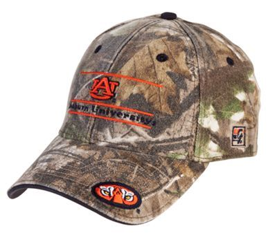 Represent your alma mater with this Camo Stretch Bar Cap. Featuring Realtree APG camo stretch fabric with a low-profile stretch fit shape. This stylish cap showcases the university and mascot name on front, and has the mascot name embroidered on the back. The front left of the cap's bill showcases the mascot image. Imported.Realtree APG camo pattern Low-profile Stretch fit Classic game bar design - $21.99