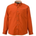 Simply put, you can't buy a better twill shirt at this price! Fortified by revolutionary Nano-Tex Resists Spills technology, our 100% cotton Red. Head long-sleeve shirt keeps you looking good and feeling comfortable despite life's little accidents. Features include a button front, a button-down collar, and a button-through left-chest pocket. This sharp shirt is ideal for day-to-day office wear and is finished with a round camp-style hem. Machine wash. Imported. 100% cotton twill. Button front. Button-down collar. Left-chest pocket. Round camp-style hem. Nano-Tex Resists Spills Technology. Resists spills by repelling liquids Outperforms conventional fabric treatments Provides long-lasting protection Extends the life of the fabric Retains the fabric's natural softness Allows the fabric to breathe naturally. Nano-Tex Resists Spills Technology. This Nano-Tex fabric uses nanotechnology to provide amazing spill resistance so you can look great and stay comfortable, all day long. Other spill-resistant clothing is often sprayed with a chemical agent that eventually wears off. Not Nano-Tex. It builds revolutionary spill resistance into the fibers of the fabric without changing how your clothes feel. Liquids bead and roll right off, keeping you looking good. - $27.99