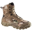Enjoy the warm, waterproof protection a top quality, high performance hunting boot without all the weight with the Vapr. Trek Waterproof Insulated Hunting Shoe. Sporting Irish Setter's new RPM outsoles, Vapr. Trek boots give you all the support, stability, and durability of a traditional Irish Setting hunting boot with up to 40% less weight. The boots' tough, full grain, waterproof leather and nylon uppers feature Ultra. Dry waterproof breathable technology and odor-resistant Scent. Ban antimicrobial linings. 400 gram Prima. Loft insulation helps your feet fight off the early morning or early evening chill. The anatomically contoured, dual density PU and high rebound foam footbed with Scent. Ban cover cushions each step for greater comfort and stability throughout the hunt. Made of an ultra-lightweight composite that does not sacrifice durability or comfort, the RPM outsoles make it easy to increase your maneuverability and endurance. The wrap around instep on the outsole provides greater protection as well as a better grip on tree stand rungs, ATV footholds, and more. Armatec heel and toe bumpers provide superior protection against ground hazards. Speed lacing system. Memory foam collar and Cu. Shin Comfort tongue. Average height: 8inch. Average weight per pair: 2 lbs. 9 oz. Imported.Manufacturer style #: 2873.Ultra-lightweight, warm, waterproof performance for the hunt. Tough full grain, waterproof leather and nylon upper. Breathable and waterproof Ultra. Dry technology. Scent. Ban anti-microbial lining resists odor-causing bacteria400 gram Prima. Loft insulation. RPM outsole - extreme light weight for faster maneuverability and greater comfort. RPM technology - lightweight composite material, 40% lighter than traditional hunting boots. Instep protection - wrap around design grips tree stand rungs and ATV footholds better. Dual density footbed - anatomically contoured PU and high rebound foam. Armatec heel and toe protection. Memory foam collar - forms to ankle for greater comfort and stability. Cu. Shin Comfort Tongues - minimizes pressure on shin - $154.99