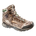 Perfect for hunters looking for trail shoe performance from their hunting boots, the Peak Predator Waterproof Hunting Boot for Men from Columbia fits the bill. Rigid and supportive, this lightweight hunting boot features waterproof leather and textile uppers that provide great abrasion resistance and support. Inside, a full waterproof/breathable membrane keeps feet dry and comfortable through wet hunting conditions. Molded internal sockliners work with the Peak Predator's Techlite Fluid. Frame midsoles and medial and lateral forefoot support wings to deliver great support over uneven ground. The Techlite midsoles with Fluid. Frame design use 3 densities of Techlite foam strategically placed for optimized support, stability, and protection over changing terrain. Fully gusseted tongue keeps debris out of the shoe. Scratch Rubber toe overlays offer extra durability and protection. Average weight per pair: 2 lbs. 2 oz. Imported. Manufacturer style #: YM5145.Trail shoe performance from a waterproof hunting boot. Waterproof leather and textile uppers. Waterproof/breathable membranes - keep feet dry and comfortable. Molded internal sockliners. Techlite Fluid. Frame midsoles - multi-density design for superior support. Medial and lateral forefoot support wings. Fully gusseted tongues - keep debris out of shoes. Scratch Rubber toe overlays - $119.99