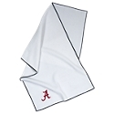Make sure your golfing partners know where your loyalties lie by attaching an Embroidered Team Golf Towel to your golf bag. Made from soft, durable 100% polyester microfiber with a waffle texture, this towel is perfect for cleaning your clubs before, during, or after the round. An embroidered collegiate trademark and team colors help you show your school spirit. At 19inch x 41inch, the Embroidered Team Golf Towel is large enough to keep part of the towel wet and part of it dry.100% polyester microfiber. College-themed coloring and embroidery. Perfect for cleaning your clubs. Measures: 19inch x 41inch - $24.99