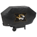 Get fired up for your favorite college team with the Collegiate Deluxe BBQ Grill Cover! Made with a tough outer material and soft felt lining, this large outdoor cover protects your gas grill from harmful sun, rain, dirt, and debris. Your team logo is proudly displayed on the front, with adjustable straps for a perfect fit. Collegiate Deluxe BBQ Grill Cover fits most large gas grills.Displays your team logo. Fits most large gas grills. Tough 15mm fabric withstands the elements. Inner felt lining protects your grill. Hook 'n' loop straps provide custom, wind-proof fit. Dimensions: 67inch x 35inch x 21inch - $49.99