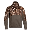 UA Cold. Gear Infrared Technology. UA Storm DWR finish. Lightweight construction. Wind- and water-resistant. Shooting shoulders prevent slippage. Large front storage pocket. Neoprene cuffs. The lightweight Under Armour Sky. Sweeper Wind Hoody boasts some of UA's finest waterfowling technologies. Cold. Gear Infrared Technology is a special lining that reflects heat inward and helps circulate it around the upper body, and the UA Storm DWR finish repels water and wind. Other benefits include shooting shoulders to prevent gun slippage, a large front storage pocket, and neoprene cuffs. 100% polyester. Machine wash. Imported. Manufacturer style #: 1249475. - $149.99