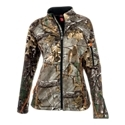 Great for mid-season and archery hunts. Tailored for a feminine fit2 zip handwarmer pockets. Stand up, zip-thru collar with zip garage. Zip-down cuffs. Raglan sleeves. Full zip front. Hunt hard and look great in SHE Outdoor apparel-the most advanced line of women's camo hunting outerwear available! The SHE Outdoor C2 Hunting Jacket for Ladies is tailored to fit the female form, with a feminine cut that's stylish and comfortable. The C2 jacket is ideal for mid-season and archery hunts, with a durable, weather-resistant fleece shell and a soft and warm fleece interior. The full zip in front zips always up to the to of the stand-up neck, where it rests in a zipper garage. The raglan sleeves have zip-down cuffs to seal out the weather, and 2 zippered handwarmer pockets in front store gear and warm you up. 100% polyester. Machine wash. Imported. SHE Outdoor C2 Hunting Pants for Ladies sold separately and can be found through item search for number 2089499 - $99.99