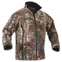 The Onyx Arctic. Shield Camo Light Hunting Jacket for Men is a versatile camo softshell that is perfect for those active hunts when walking and stalking, and is also ideal for a mid-season jacket or a thermal base layer. The quiet 100% polyester, wind and water resistant outer shell contains Arctic. Shield heat retention technology for added warmth. The jacket features a water-resistant front zipper which allows for venting and easy access to clothing underneath. Two large ventilating chest pockets, and two fleece-lined side slash pockets secure all your gear. This light jacket has mesh front panels and a fleece-lined interior for added warmth and comfort. Also contains a fleece lined collar and an adjustable hook and loop wrist closure. Imported.Fleece collar. Ventilated chest pockets. Adjustable cuffswater resistant zippers. Slash pockets - $119.99
