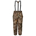 Scent-Lok Waterproof Insulated Camo Pants for Men can handle the worst cold and wet weather hardcore hunters can face. These 100% polyester insulated camo pants features 2 waist pockets for essential storage, 11inch leg zippers with storm flaps for easy field dressing, 100gm of insulation, and suspenders to help keep your gear in place. Features Carbon Alloy technology for maximum scent control.Insulated100% waterproof2 waist pockets. Carbon Alloy technology - $159.99