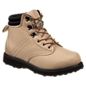 Enjoy a solid, stable base over uncertain fishing surfaces with the Rubber Sole Wading Boots from White River Fly Shop. Durable 900 denier polyester uppers feature padded collars for improved fit and comfort and reinforced toe caps for extra protection. Extra wide last and midsole provides a stable base and solid ankle support. Modified Goodyear welt construction for great durability and stability. Lightweight, cushioning EVA midsoles. Non-slip rubber outsoles. Lace-up wading boots with brass speed hooks. Imported.Sure footing and stable support for slippery fishing spots. Durable 900 denier polyester uppers. Padded collars - improved fit and comfort. Reinforced toe caps. Extra wide last and midsole - stable base and ankle support. Modified Goodyear welt construction - durability and stability. Lightweight EVA midsoles. Non-slip rubber outsoles. Wading Boot Studs sold separately and can be found through item search for number 2215713. - $59.99