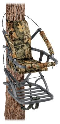 Enclosed front. Padded seat and backrest. Weighs only 18 lbs.Fits trees 8?20Platform: 20x 24.75?Max. Weight Capacity: 300 lbs.The downsized version of the incredibly popular Viper climbing stand from Summit is strong, agile, and versatile. Weighing in at only 18 lbs., it's easy to carry even deeper into the woods. The enclosed front lends extra safety and security, and the comfortable padded seat and backrest makes long hunts more comfortable. Fits trees 8?20 in diameter. Seat: 18x12. Backrest: 12x20. Platform: 20x 24.75?. Weight: 18 lbs. Max. Weight Capacity: 300 lbs.Manufacturer model #: 81124. - $279.99