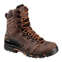 Combining durable Danner workboot construction with a hiking platform, the Danner Vicious GORE-TEX Work Boots for Men give you nimble durability from the ground up. A workboot built to help you handle heavy workloads, the Vicious combines tough, full grain leather uppers with 100% waterproof/breathable GORE-TEX linings for comfortable moisture protection and long term endurance. The boot's lightweight and agile Trailguard platform cups your heel for a secure fit and accomodates feet handling a heavy load with a roomier toe box. Dual density EVA midsoles provide extra shock absorption and comfort, while the lightweight nylon shanks boost boot stability over uneven surfaces. Oil- and slip-resistant Vibram Vicious outsoles deliver sure traction and indoor/outdoor versatility with a work-friendly, low profile 90? heel. Abrasion-resistant heel caps add durability. The Vicious also meets or exceeds ASTM F2892-11 EH standards for electrical hazard protection. Average height: 8inch. Average weight per pair: 53 oz. Imported.Manufacturer style #: 13866.Lightweight and agile hiking platform in a tough and rugged work boot. Full grain leather uppers - long lasting protection. GORE-TEX 100% waterproof/breathable linings - keeps feet dry and comfortable. Trailguard platform - secure fit with extra roomy toe box. Dual density EVA midsole for extra shock absorption and comfort. Lightweight nylon shanks - better stability. Vibram Vicious outsoles - oil- and slip-resistant. Work-friendly, low profile 90? heel. Abrasion-resistant heel cap Meets ASTM F2892-11 EH standards for electrical hazard protection - $189.99