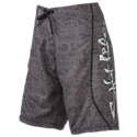 The Salt Life Flying Stealth SLX-QD Swim Trunks are ideal for swimming, fishing, boating, and all sorts of fun on-the-water activities. These Aqua Trunks are made from mega-soft, ultra-light, moisture-wicking, quick-drying SLX Uvapor fabric. This quick-reaction fabric is very comfortable to wear because it has an anti-rash interior that eliminates chafing. Other notable details on this Salt Life swimsuit include a right-leg cargo pocket with a hook 'n' loop closure, an all-over nautical print, and screen-printed and embroidered Salt Life graphics. 100% polyester. Machine wash. Imported.Manufacturer style #: SLM408.SLX-QD 100% polyester. Quick-drying. Moisture-wicking. Anti-rash interior. Right-leg cargo pocket. Cargo pocket. Salt Life graphics. Inseam: 11inch - $45.00