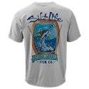 The Salt Life Aloha Fish Company SLX Uvapor Pocket T-Shirt delivers a comfortable fit and technical features to keep you cool and dry as you play in the sun. Mega-soft, ultra-light, moisture-wicking, quick-drying, antimicrobial SLX Uvapor fabric provides UV 30 sun protection. This quick-reaction fabric provides a built-in cooling ventilation system to combat the heat. Other notable details on this Salt Life performance tee include screen-printed back graphics of a marlin and a left-chest pocket. 88% polyester/12% spandex. Machine wash. Imported.Manufacturer style #: SLM669.88% polyester/12% spandex. SLX UVapor fabric. UV 30 sun protection. Moisture-wicking. Quick-drying. Antimicrobial. Left-chest pocket. Marlin back graphic - $33.00