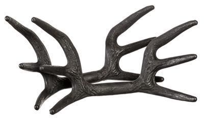 Deliver the true sound of 2 mature bucks fighting the next time you try to rattle antlers from the stand with the Black Rack Rattling System from flextone. This unique call features 2 complete racks to produce the true sound of 2 different mature bucks crashing and rattling antlers in a major fight. Both racks also feature Bone Core technology, which mimics real bone marrow in antlers to help the Black Rack deliver true sound. Built-in handles help keep fingers out of the way while rattling. Non-reflective black color helps conceal movement during use. Manufacturer model #: FG-DEER-00050.Double the amount of rack contact for double the sound2 full racks for more realistic fighting sounds. Bone Core technology - mimics real bone marrow for true sound. Non-reflective black color. Handle design protects fingers while rattling - $24.99