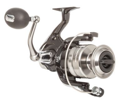 With a proven durable design that handles saltwater fishing like no other, Shimano Spheros SW saltwater spinning reels offer even more angler confidence with new Shimano SW Concept features. These advanced spinning reels are available in sizes for off the beach, inshore action, and blue water use. The Shperos sports X-Shield protection, providing extreme water resistance in all critical locations, with dependable sealing structures and gaskets at necessary points throughout the spinning reel. The X-SHIP gear system gives greater power transmission by minimizing rotational resistance with a larger, cold forged Shimano CF Gear, improved tooth face accuracy, and bearing capacity. The rigidity of components such as the handle, rotor and bail are enhanced to eliminate power loss resulting from flexing and distortion. The four S A-RBball bearings provide optimal corrosion resistance and incredible smoothness in extreme conditions.X-Ship for enhanced durability and effortless retrieve. X-Shield provides extreme water resistance in all critical locations. Cold-forged CF Gear provides even more durability4 - S A-RB (Ball Bearings) - $199.99