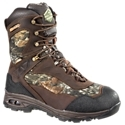 Extremely lightweight hunting boot with athletic shoe-inspired agility. Crazyhorse leather and nylon uppers with 3M? Scotchgard? Protector treatment. Exoskeleton Vamp with Free Floating Lacing System for comfortable, custom fit. Protective Tuff Skin high abrasion leather around toe and heel. Cosmo Alpine linings with Scent. Mask? antimicrobial treatments. X-Stream waterproof breathable technology - keeps feet dry and comfortable400 gram 3M? Thinsulate? Ultra Insulation. Shock absorbing CMEVA midsoles. Ventilating and cushioning removable inserts - cushions and stabilizes. VGS Hiker Unit outsoles with gel cushioning unit in the heel. If the word prowl best describes your preferred style of hunting, the Maniac Hunting Boot from Wood N' Stream is for you. An extremely lightweight, athletic-inspired design, the Maniac provides great support and protection with its crazyhorse leather and nylon uppers treated with 3M Scotchgard. These high performance uppers feature an exoskeleton vamp with a free floating lacing system for a comfortable, more secure feeling, custom fit. X-Stream waterproof breathable technology keeps feet dry and comfortable while the Maniac's Cosmo Alpine linings with Scent. Mask antimicrobial treatment resist odor-causing bacteria. 400 gram 3M Thinsulate Ultra Insulation helps fight off the morning chill, letting you focus on the hunt instead of your feet. Designed for great support and agile comfort, the Maniac's CMEVA midsoles and removable ventilating and cushioning inserts support, stabilize, and cushion your feet all day long. These special inserts feature protective cushioning in the strike zones at the heel and forefoot, as well as a high density EVA torsion stabilizer, to give you superior support. Further cushioning and support comes from the gel cushioning unit in the heels of the lightweight, multi-directional, and self cleaning VGS Hiker Unit outsoles. Average height: 8. Average weight per pair: 2 lbs. 13 oz. Imported.Manufacturer style #: 2103. - $159.99