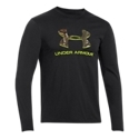 The Under Armour Camo Fill Logo T-Shirt is a comfortable midweight tee with a hunting theme that will soon replace your old inchfavoriteinch t-shirt! This long-sleeve tee features a rib-knit collar, double-needle stitching on the sleeves, and a large Under Armour camo logo on the front. 60% cotton/40% polyester. Machine wash. Imported. Manufacturer style #: 1258082.60% cotton/40% polyester. Camo print logo. Rib-knit collar. Double-needle stitching - $29.99