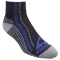 Enjoy the natural performance and great comfort of merino wool on your next trek into the wilderness with these high performance Hiker Quarter Socks from Ascend. Advanced construction sandwiches stretch yarns between the performance merino yarn-from top to toe-for an optimal fit. Merino wool-only interior provides unrivalled comfort against your skin. Seamless looped toes for incredible comfort. Quarter: 67% U.S. merino wool/31% nylon/2% Lycra spandex. 1 pair. Machine wash, no bleach; tumble dry, no heat. Made in USA.High performance hiking sock with natural comfort and performance of merino wool100% American-grown merino wool. Seamless looped toe closure. Flexible, durable elastic from top to toe. Shrink-resistant Merino wool, nylon, and elastic yarn blend. FARM TO FEETMade, Sewn, and Grown Entirely in the U.S.For generations, American-made products have stood for durability, quality, and innovation. It?s a tradition that some companies have lost, but it?s still alive and well for Ascend socks at Bass Pro Shops. These handcrafted Ascend hiking socks are made with 100% U.S.-grown merino wool and all-American nylon and elastic yarns to make them sturdy, shrink-resistant, and so comfortable you?ll always want to hike the extra mile. Our socks are produced by a dedicated work force locally based in the Carolinas so you can feel good knowing every sock is proudly made, sewn, and grown entirely in the U.S. - $12.99