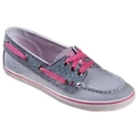 Girls can cruise through the day in super-cute fashion with Sperry Top-Sider Cruiser Sneakers. Featuring fun fabrics and unexpected details, these canvas boat shoes have authentic grommet and lace styling. A vulcanized bottom offers cushion and flexibility, and canvas uppers provide cool, breathable comfort. Sperry Top-Sider Cruiser Sneakers combine the comfort of a sneaker with the style of a deck shoe in crazy, fun colors for girls. Imported. Manufacturer style #: YG48894.Canvas uppers. Fun, fashion fabrics and patterns. Grommet and lacing details for iconic boat shoe look. Vulcanized bottom provides comfort and flexibility - $19.97