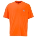 The Carhartt Force. Color-Enhanced T-Shirt is a worksite standout. Brightly colored, high-visibility 4.25 oz. 100% polyester Force Performance Fabric features Fast. Dry technology to wick away sweat and Stain Breakertechnology, which helps release stains. This tough Carhartt work tee has a tagless neck label that eliminates chafing, a left-chest pocket, and side-seamed construction to minimize twisting. Relaxed fit. Machine wash. Imported.4.25 oz. 100% polyester Force Performance Fabric. Fast. Dry technology wicks away sweat for comfort. Stain Breaker technology releases stains. Tagless neck label eliminates chafing. A left-chest pocket adds workday utility. Side-seamed construction minimizes twisting - $17.99