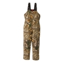SHE Outdoor Insulated Hunting Bibs for Ladies offer a tailored feminine cut for better mobility, a better overall appearance, and increased comfort for ladies in the woods. It boasts 100 grams of Thermolite Insulation for lightweight warmth, with adjustable elastic shoulder straps and an elastic waist. Other advantages include a YKK front zip with exterior button down storm flap; 2 upper zippered, bellowed chest pockets; 2 handwarmer pockets; 2 button down rear pockets; 23'' mid-thigh leg zips with storm flaps; and reinforced knees and kick plates. Made of 60% cotton/ 40% polyester. Machine wash. Imported.Tailored feminine cut100g Thermolite Insulation. YKK front zip with exterior button down storm flap. Adjustable elastic shoulder straps2 upper zippered, bellowed chest pockets2 handwarmer pockets2 button down rear pockets23'' mid-thigh leg zips with storm flaps. Reinforced knees. Reinforced kick plates. Elastic waist60% cotton/ 40% polyester. Manufacturer style #: BPOW307. - $79.99