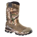 Stable, flexible, warm, and waterproof hunting boot. Stable. Flex construction - increased stability and flexibility. Exo. Flex Fit System - slips on and off easily. Full grain, waterproof Trout Brook Leather and rugged, camo print nylon uppers. Ultra. Dry waterproofing - waterproof, breathable protection. Scent. Ban antimicrobial lining resists odor-causing bacteria. Cu. Shin Comfort Tongues - minimizes pressure on shin. Achilles comfort panel - reduces boot's ankle bite. Arma. Tec toe and heel protection for added durability. Removable polyurethane footbeds - long lasting cushioning and comfort underfoot. Non-metallic shanks for better stability and support on long hunts. Lightweight, dual density composite RPM outsoles - lighter for faster maneuverability and greater comfort. Deer Tracker sole design - superb stability and traction on the toughest terrain. Charge across rough terrain with confidence and comfort in any weather with Irish Setter Deer Tracker Pull On Hunting Boots. A great choice for hunters who like to keep moving, the Deer Tracker offers the support, warmth, waterproof protection, and durable quality you want for stalking late season game. This tough and durable hunting boot starts with full grain, waterproof Trout Brook Leather and rugged, camo print nylon uppers with the Exo. Flex Fit System for easy on and off. Arma. Tec protection panels at the toe and heel adds durability. Inside, Ultra. Dry waterproof breathable technology and Scent. Ban antimicrobial linings keep your feet dry and comfortable. Stable. Flex construction combines stable welt construction around the heel with more flexible cement construction in the forefoot to give you the best of both as you stalk game. Removable PU footbeds and lightweight, non-metallic shanks provide long lasting cushioning and improved stability and support on long hunts. Irish Setter finishes this high performance boot off with its ultra-lightweight, dual density composite RPM outsoles and Deer Tracker outsole design, giving you superb stability and traction on the toughest terrain. Average height: 12inch. Average weight: 3 lbs. 8 oz. Imported.Manufacturer model #: 4843. - $164.99