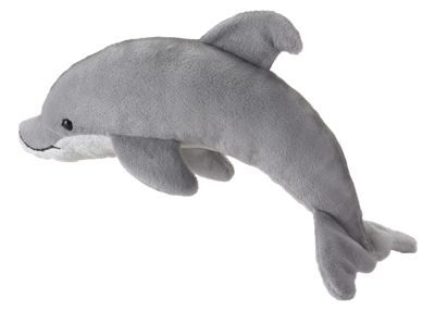 This Wildlife Artists Conservation Critters Plush Stuffed Dolphin toy wants to leap through the air into your arms! Soft and huggable, this plush toy makes a great gift. Recommended for ages 3 and up. Measures approximately 19''. Imported.Ultra-soft and huggable plush toy. Measures approximately 19inch. Makes a great gift. Ages 3 and up - $14.99