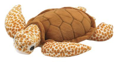 This Wildlife Artists Conservation Critters Loggerhead Turtle toy has escaped the ocean and wants you to take him home! Soft and huggable, this plush toy makes a great gift. Recommended for ages 3 and up. Measures approximately 15''. Imported.Ultra-soft and huggable plush toy. Measures approximately 15inch. Makes a great gift. Ages 3 and up - $14.99