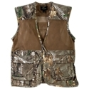 The Red. Head Dove Hunting Vest for Men is ideal for shooting fast moving birds in upland hunting scenarios. This tough yet cool dove hunting vest features a ventilated mesh polyester body with adjustable sides to fit most hunters. Generous storage includes padded neoprene shooting panels on shoulders, oversized front shell pockets, accessory pocket at left chest, and 2 individual shell quick access loops. 100% polyester. Machine wash. Imported.Ventilated poly mesh body. Adjustable sides. Padded neoprene shooting panels on shoulders. Oversized front shell pockets. Accessory pocket at left chest2 individual shell quick access loops - $29.99